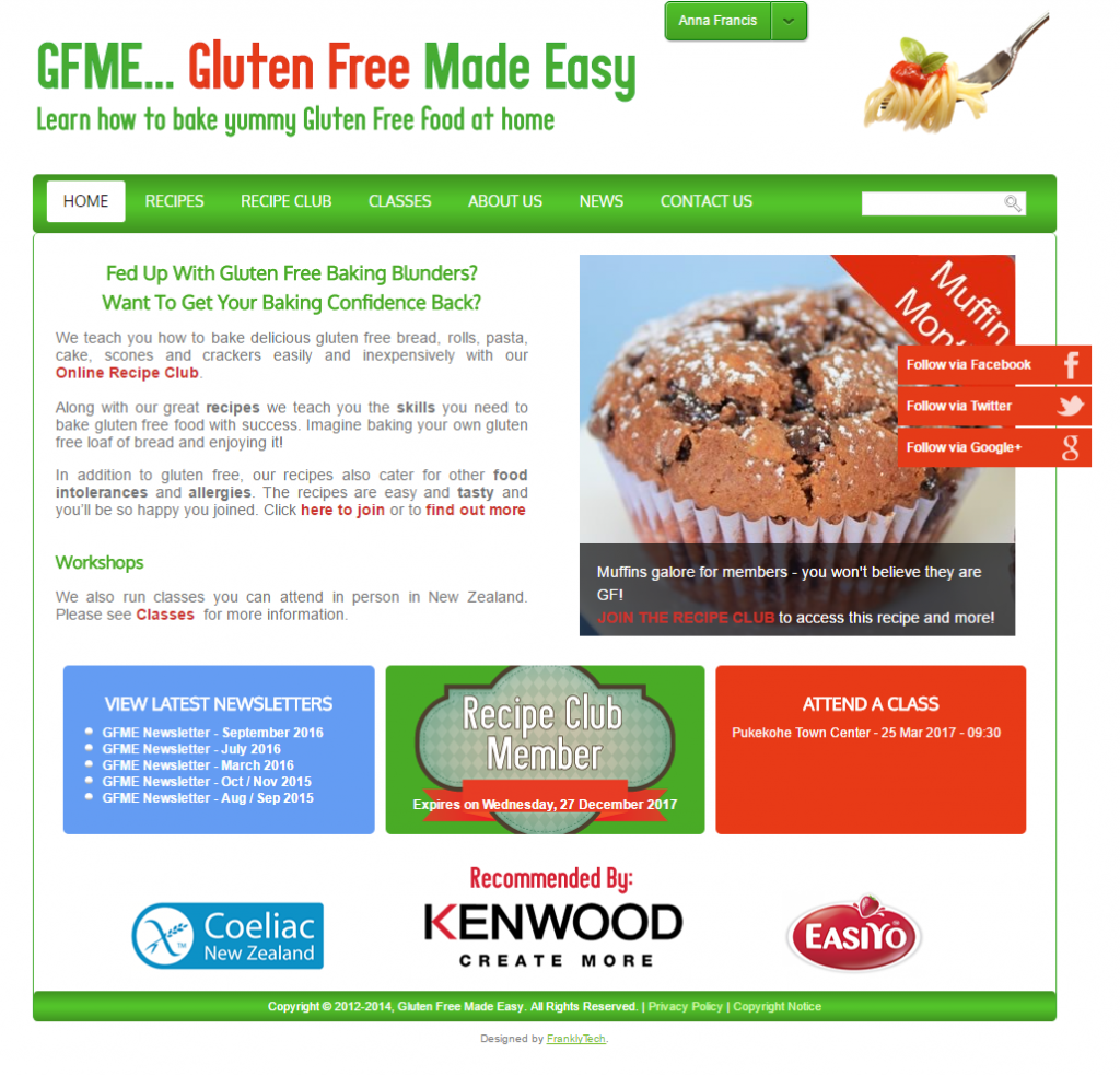 Gluten Free Made Easy